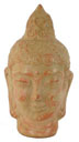 Tête de Bouddha (beige+orange) 14€